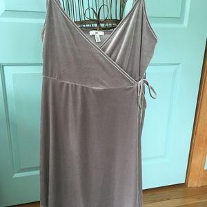 NWT bp Velvet Wrap Dress